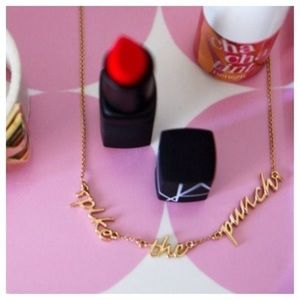 """Kate Spade """"Spike The Punch """" Necklace"""